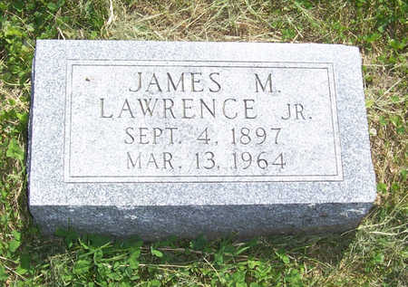 LAWRENCE, JAMES M., JR. - Shelby County, Iowa | JAMES M., JR. LAWRENCE