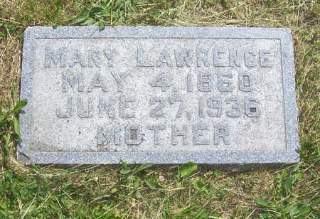 LAWRENCE, MARY - Shelby County, Iowa | MARY LAWRENCE