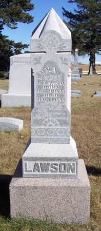 LAWSON, EMMA L. - Shelby County, Iowa | EMMA L. LAWSON
