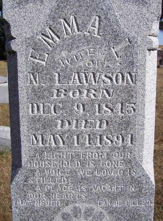 LAWSON, EMMA L. (CLOSE-UP) - Shelby County, Iowa | EMMA L. (CLOSE-UP) LAWSON