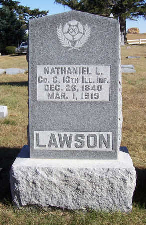 LAWSON, NATHANIEL L. (MILITARY) - Shelby County, Iowa | NATHANIEL L. (MILITARY) LAWSON