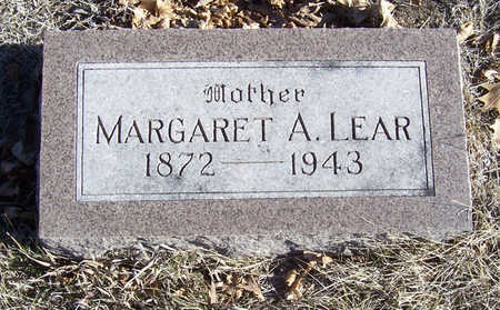 LEAR, MARGARET A. (MOTHER) - Shelby County, Iowa | MARGARET A. (MOTHER) LEAR