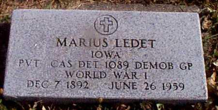 LEDET, MARIUS - Shelby County, Iowa | MARIUS LEDET