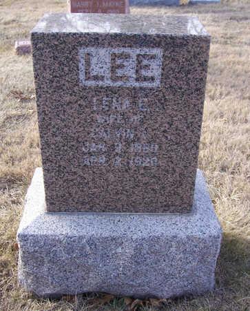 HOLTZ LEE, LENA E. - Shelby County, Iowa | LENA E. HOLTZ LEE