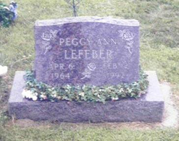LEFEBER, PEGGY ANN - Shelby County, Iowa | PEGGY ANN LEFEBER