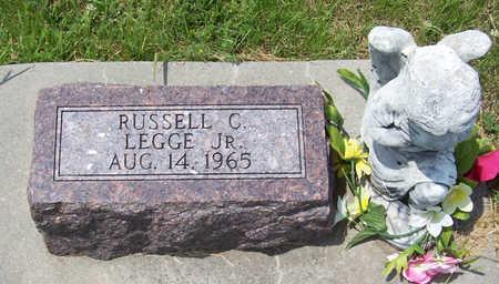 LEGGE, RUSSELL C., JR. - Shelby County, Iowa | RUSSELL C., JR. LEGGE