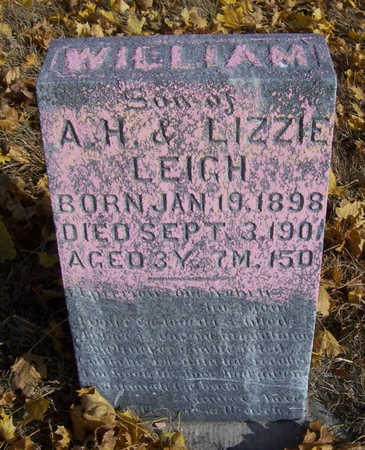 LEIGH, WILLIAM - Shelby County, Iowa | WILLIAM LEIGH