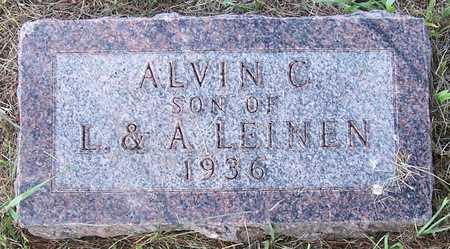 LEINEN, ALVIN C. - Shelby County, Iowa | ALVIN C. LEINEN