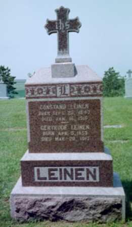 LEINEN, CONSTAND - Shelby County, Iowa | CONSTAND LEINEN