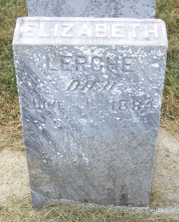 LERCHE, ELIZABETH - Shelby County, Iowa   ELIZABETH LERCHE