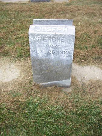 LERCHE, JOSEPH - Shelby County, Iowa   JOSEPH LERCHE