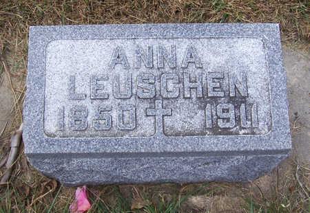 LEUSCHEN, ANNA - Shelby County, Iowa | ANNA LEUSCHEN