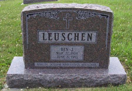 LEUSCHEN, BEN J. - Shelby County, Iowa   BEN J. LEUSCHEN