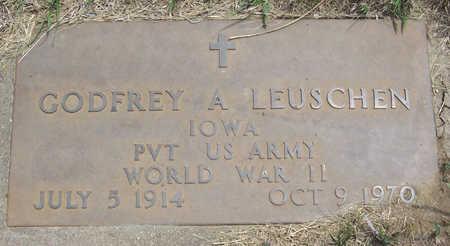 LEUSCHEN, GODFREY A. (MILITARY) - Shelby County, Iowa | GODFREY A. (MILITARY) LEUSCHEN