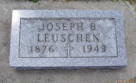 LEUSCHEN, JOSEPH B. - Shelby County, Iowa | JOSEPH B. LEUSCHEN