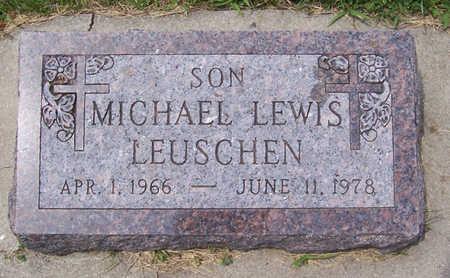 LEUSCHEN, MICHAEL LEWIS - Shelby County, Iowa | MICHAEL LEWIS LEUSCHEN