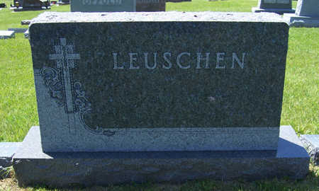 LEUSCHEN, NICHOLAS & ELIZABETH (LOT) - Shelby County, Iowa   NICHOLAS & ELIZABETH (LOT) LEUSCHEN