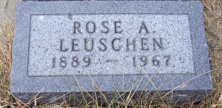 LEUSCHEN, ROSE A. - Shelby County, Iowa | ROSE A. LEUSCHEN