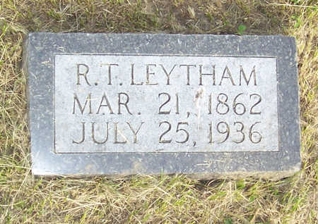 LEYTHAM, R. T. - Shelby County, Iowa   R. T. LEYTHAM