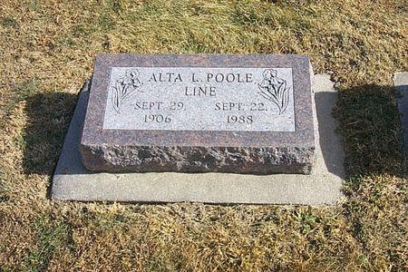 POOLE LINE, ALTA L. - Shelby County, Iowa | ALTA L. POOLE LINE
