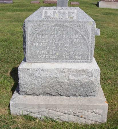 LINE, SAMUEL F. - Shelby County, Iowa | SAMUEL F. LINE