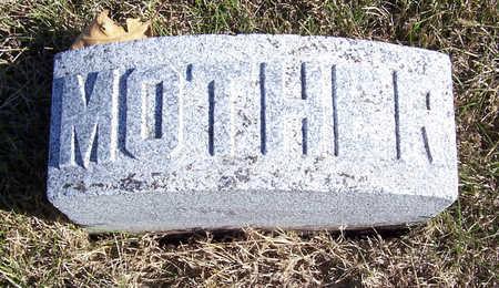 LINN, CARRIE (MOTHER) - Shelby County, Iowa | CARRIE (MOTHER) LINN