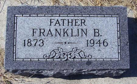 LINN, FRANKLIN B. (FATHER) - Shelby County, Iowa | FRANKLIN B. (FATHER) LINN