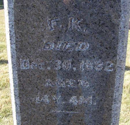 LINN, F. K. (FLORENCE K.) - Shelby County, Iowa   F. K. (FLORENCE K.) LINN