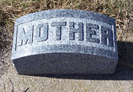 LINN, HESTER A. R. (MOTHER) - Shelby County, Iowa | HESTER A. R. (MOTHER) LINN
