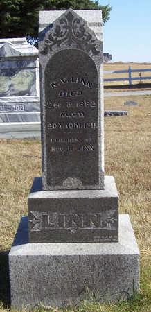 LINN, N. V. (NANCY V.) - Shelby County, Iowa | N. V. (NANCY V.) LINN