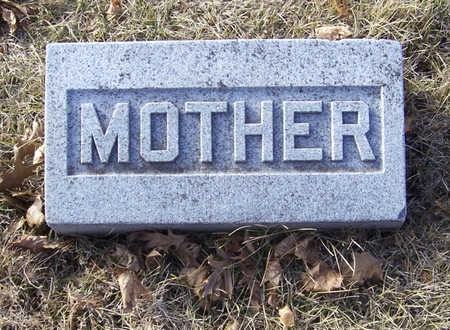 LONG, MARY E. (MOTHER) - Shelby County, Iowa | MARY E. (MOTHER) LONG