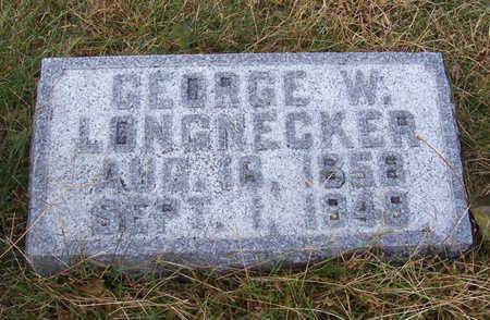 LONGNECKER, GEORGE W. - Shelby County, Iowa   GEORGE W. LONGNECKER