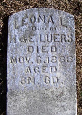 LUERS, LEONA L. - Shelby County, Iowa | LEONA L. LUERS