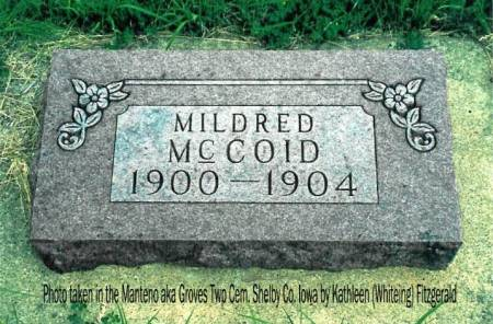 MCCOID, MILDRED LUCILLE - Shelby County, Iowa | MILDRED LUCILLE MCCOID