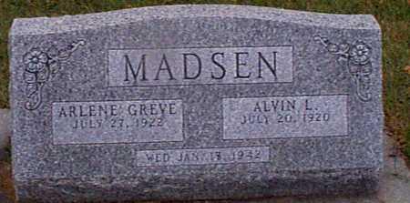 GREVE MADSEN, ARLENE - Shelby County, Iowa   ARLENE GREVE MADSEN