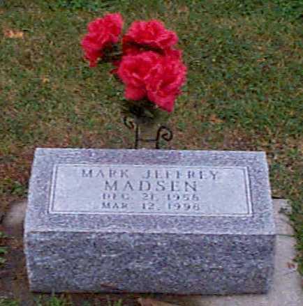 MADSEN, MARK JEFFREY - Shelby County, Iowa   MARK JEFFREY MADSEN