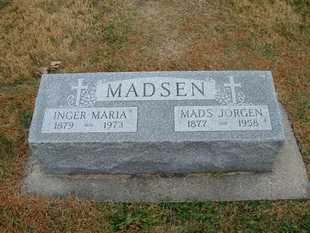 PEITERSEN MADSEN, INGER MARIE - Shelby County, Iowa | INGER MARIE PEITERSEN MADSEN