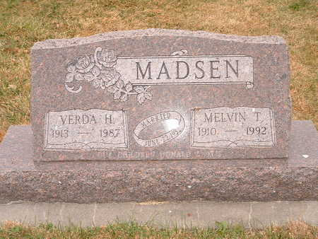MADSEN, MELVIN T - Shelby County, Iowa | MELVIN T MADSEN