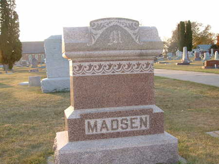 MADSEN, MADS - Shelby County, Iowa   MADS MADSEN