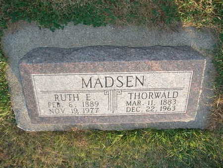 MADSEN, THORVALD - Shelby County, Iowa | THORVALD MADSEN