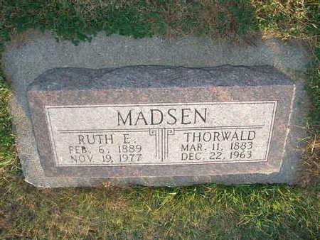 HANSEN MADSEN, RUTH E - Shelby County, Iowa | RUTH E HANSEN MADSEN