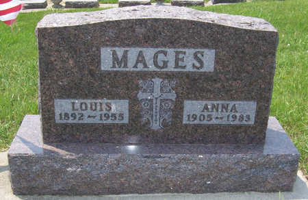 MAGES, LOUIS - Shelby County, Iowa | LOUIS MAGES