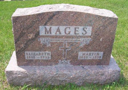LAHR MAGES, ELIZABETH - Shelby County, Iowa | ELIZABETH LAHR MAGES