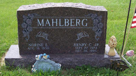 MAHLBERG, HENRY C., JR. - Shelby County, Iowa | HENRY C., JR. MAHLBERG