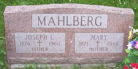 MAHLBERG, MARY - Shelby County, Iowa | MARY MAHLBERG