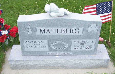 MAHLBERG, MICHAEL J. - Shelby County, Iowa | MICHAEL J. MAHLBERG