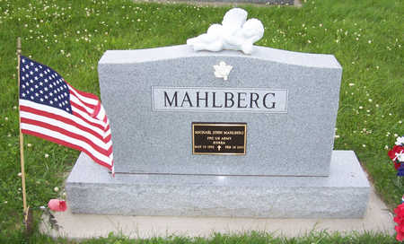 MAHLBERG, MICHAEL JOHN (MILITARY) - Shelby County, Iowa | MICHAEL JOHN (MILITARY) MAHLBERG