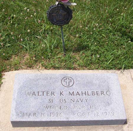 MAHLBERG, WALTER K. (MILITARY) - Shelby County, Iowa | WALTER K. (MILITARY) MAHLBERG