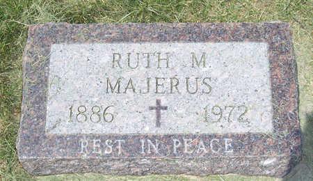 MAJERUS, RUTH M. - Shelby County, Iowa   RUTH M. MAJERUS