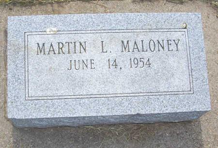 MALONEY, MARTIN L. - Shelby County, Iowa   MARTIN L. MALONEY